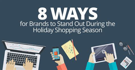 8 Ways To Stand Up For Yourself by 8 Ways For Brands To Stand Out During The Shopping