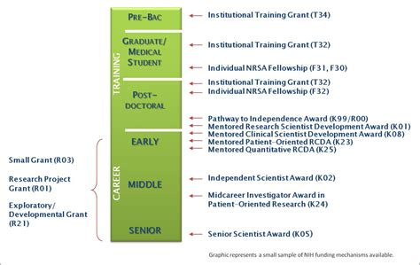 trends in nih training and career development awards nih