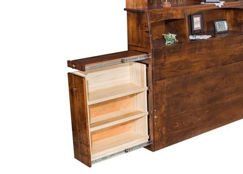 Amish Bookcase Headboard by Empire Bookcase Board Amish Furniture Store