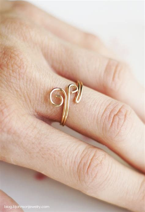 ring diy 5 simple and diy wire ring designs