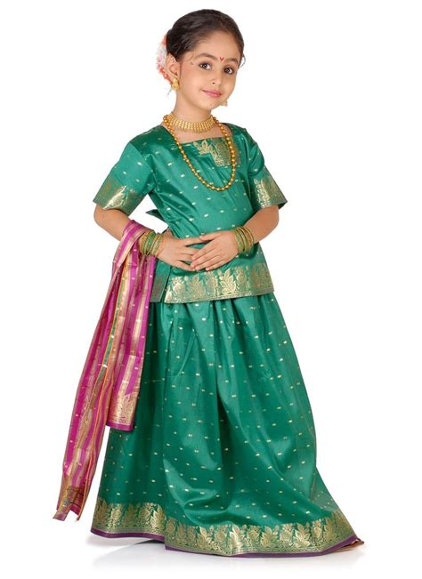 Dress Pesta Indian Style maharashtrian parkar traditional dress in indian wear traditional dresses