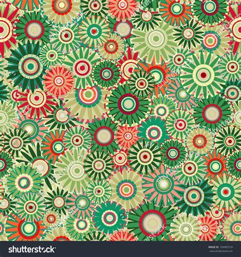 vintage pattern green seamless vintage flower pattern green floral background