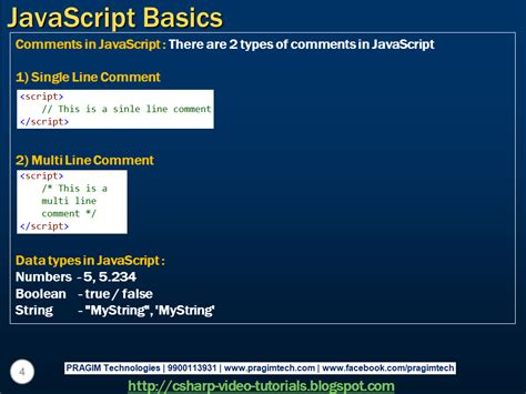 tutorial asp net javascript sql server net and c video tutorial javascript basics