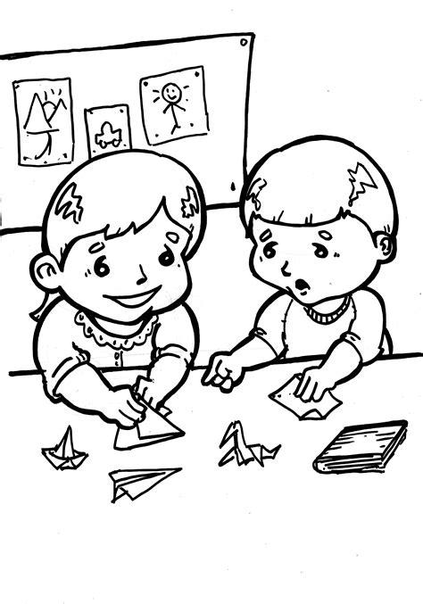 dibujos infantiles jaume primer dibujo colorear study08 dibujo de ni 241 os para imprimir