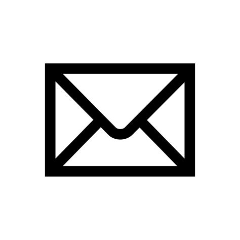 Find By Email For Free Email Symbol Black Clipart Clipart Suggest