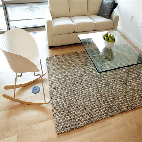 geflochtene teppiche gro 223 wohnzimmer quadratische teppiche zeitgen 246 ssisch die