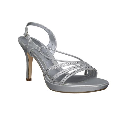 sears sandals womens metaphor s verena dress shoe silver