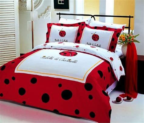 le vele isabelle la coccinelle isabelle  ladybug bedding polka dotladybugs duvet twin bed