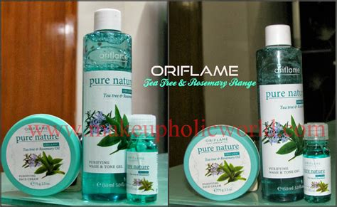 Skin Scrub Oriflame oriflame nature organic tea tree rosemary