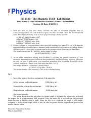 electromagnetic induction lab report electomagnetic induction lab report ph 1120 electromagnetic induction lab report 1 state the