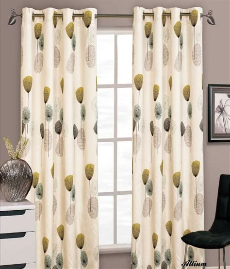 ring top drapery stylish floral ring top eyelet lined curtains faux silk