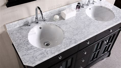 marble countertop for bathroom comwhite carrara marble bathroom crowdbuild for