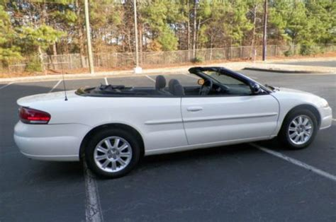 2004 Chrysler Sebring Gtc Convertible by Find Used 2004 Chrysler Sebring Gtc Convertible Leather