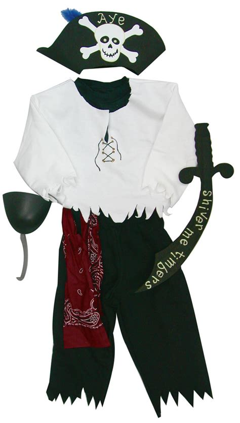 Handmade Pirate Costume - 287 diy ideas the ultimate guide favecrafts