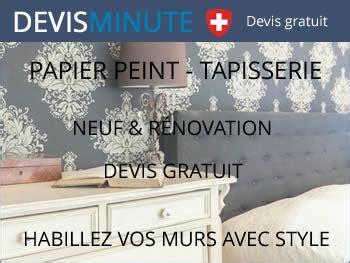 Devis Tapisserie by Tarif Pose De Papier Peint Maison Et Appartement Devis