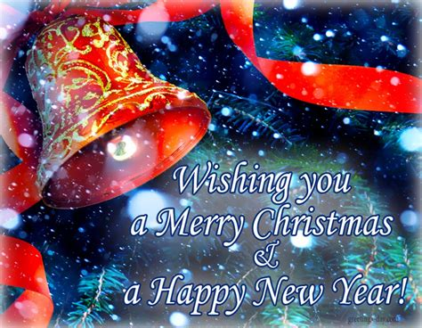 merry christmas happy  year ecards