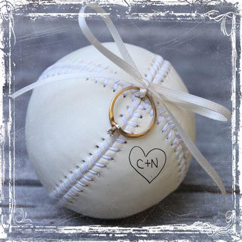 baseball ring bearer pillow alternative