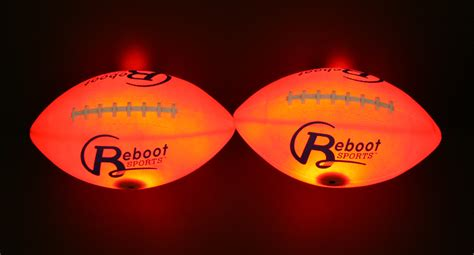 Light Up Football by Light Up Football Light Up Footballs By Reboot Sports