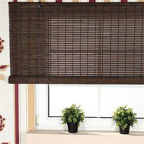 Bamboo Roller Blinds Bamboo Shade Roller Blind Window Shades Wooden