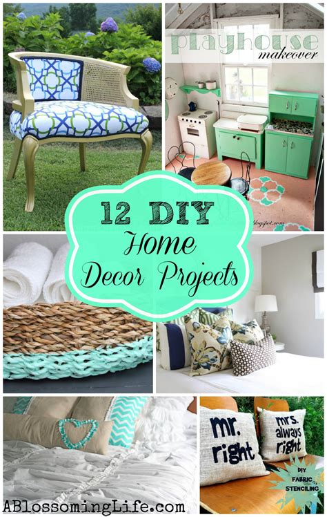 diy projects home decor 12 inspiring diy home decor projects a blossoming
