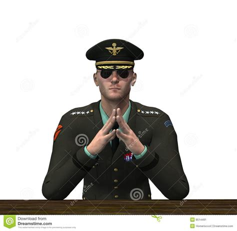 Officer In by Officer Pondering Stock Illustration Image