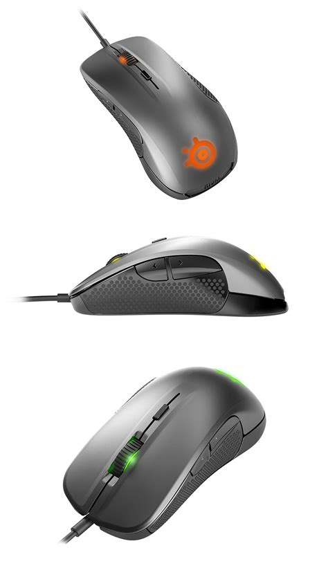 steelseries rival 300 optical gaming mouse silver ss
