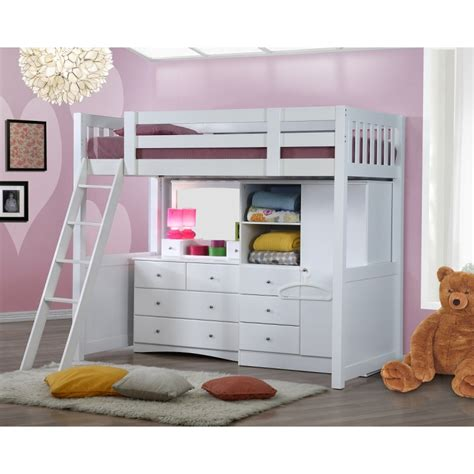 My Design Bunk Bed W Stair K Single 104028 Bunk Bed Wardrobe