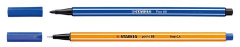 Stabilo Pen 68 Umber supplies placement