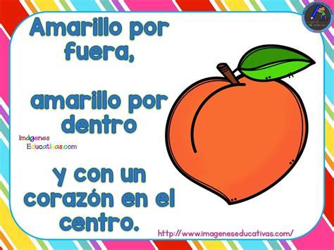 imagenes educativas adivinanzas adivinanzas de frutas 7 imagenes educativas