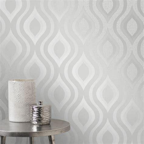 glitter wallpaper glasgow west end quarz geometrische tapeten silber feine dekor fd41968