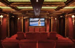 home theater decor casual cottage