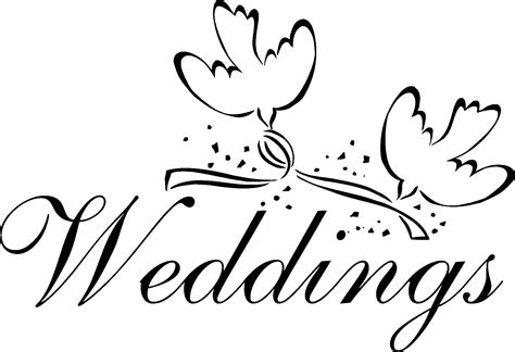 Wedding Images Clip by Dove Clipart Wedding Ceremony Pencil And In Color Dove