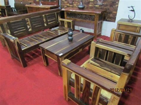 Meja Kayu Sonokeling meja tamu kayu trembesi solid dan alami crown furniture