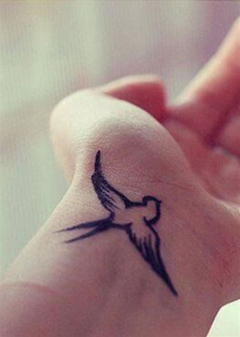 sparrow tattoo on wrist tatoos pinterest