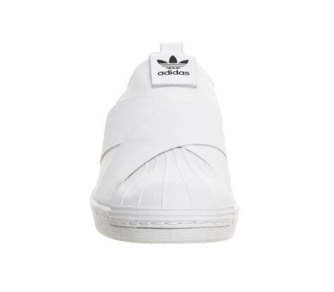 Adidas Supetstar Slip On White adidas superstar slip on white mono the sole supplier