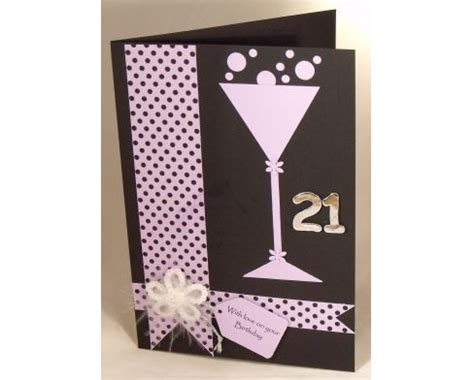 Handmade 21st Birthday Gifts - 25 best ideas about 21st birthday cards on 21