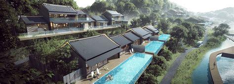 Contemporary Style House Plans aedas plans zhuhai hengqin tianhu hotel development in china
