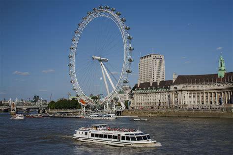 london eye thames river sightseeing cruise london eye river cruise information