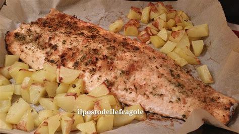 come si cucina il salmone al forno salmone al forno con crosta croccante