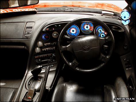 Mk4 Supra Interior by Toyota Supra Mkiv 8 By Johanlinder On Deviantart