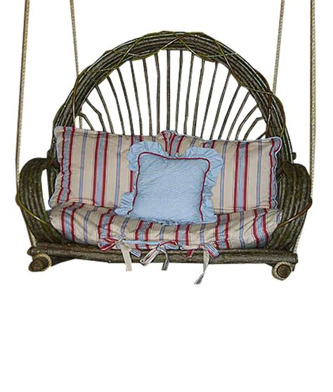 Willow Chairs by Willow Porch Swing Rustic Artistry