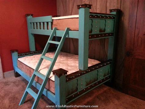 azul alder domingo rustic bunk bed
