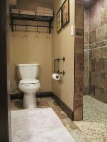 basement bathrooms pictures walk in shower in the basement bathroom great for