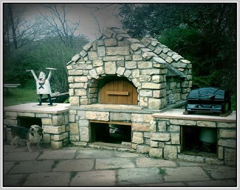 Outdoor Fireplace With Pizza Oven Plans by Outdoor Pizza Oven Plans Home Design Ideas