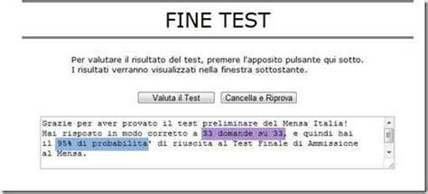 test sul quoziente intellettivo le risposte esatte al test preliminare sul quoziente di