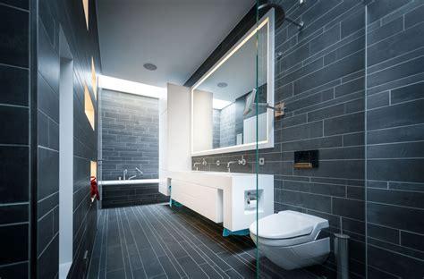badezimmer ideen stein badezimmer aus dunkelgrauem stein bauemotion de