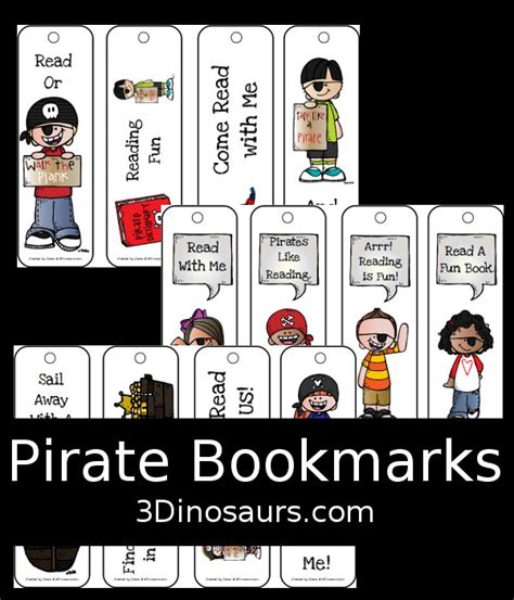 printable pirate bookmarks free pirate bookmarks free homeschool deals