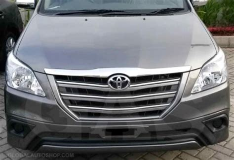 All New Innova Grille Depan Activo Front Grille Activo Toyota Innova Chrome Grill Custom Grille Grill Inserts Chrome Grille