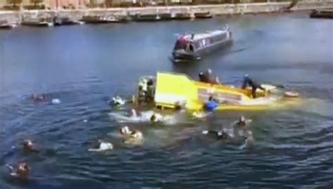 just add water boats fire liverpool tourist duck boat sinks rescues caught on video