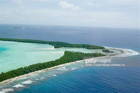 boat rs near disappearing island tuvalu stock photos and pictures getty images